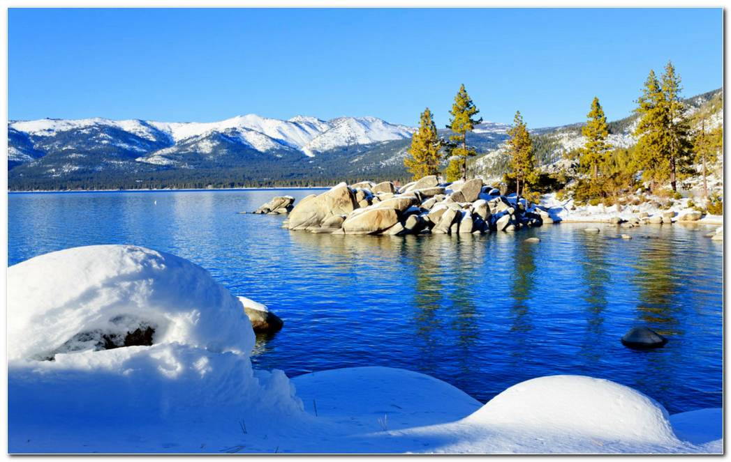 Lake Tahoe Nature Wallpaper