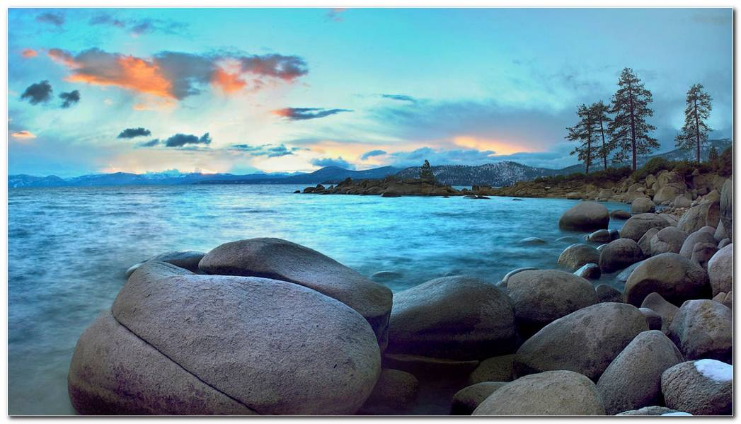 Lake Tahoe Wallpaper Background