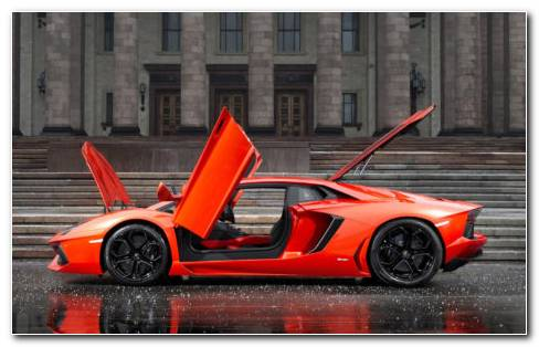 Lamborghini Aventador LP700 4 HD Wallpaper