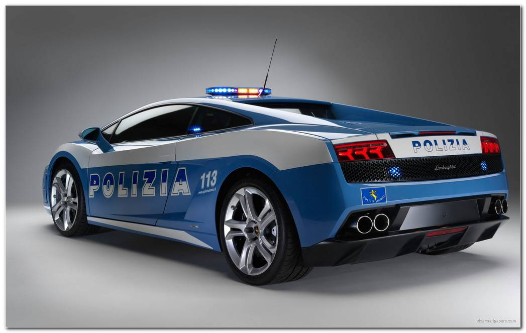 Lamborghini Gallardo Police Car Wallpaper HD Car Wallpapers 2560x1600