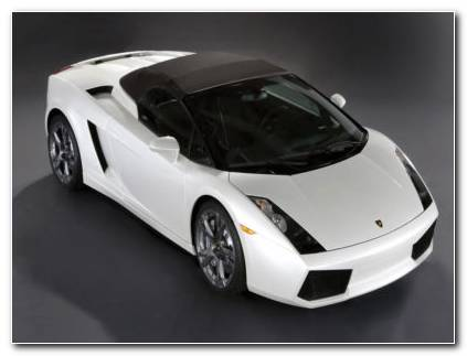 Lamborghini Gallardo Spyder HD Wallpaper