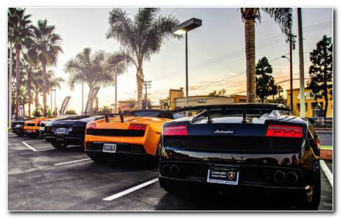 Lamborghini Models HD Wallpaper
