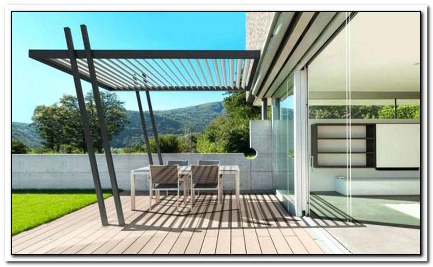 Lamellendach Terrasse Preis