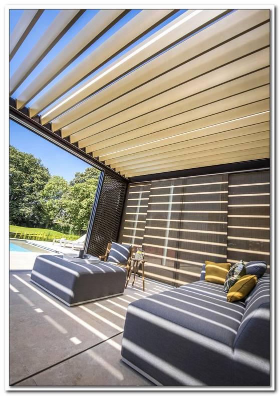 Lamellendach Terrasse Selber Bauen