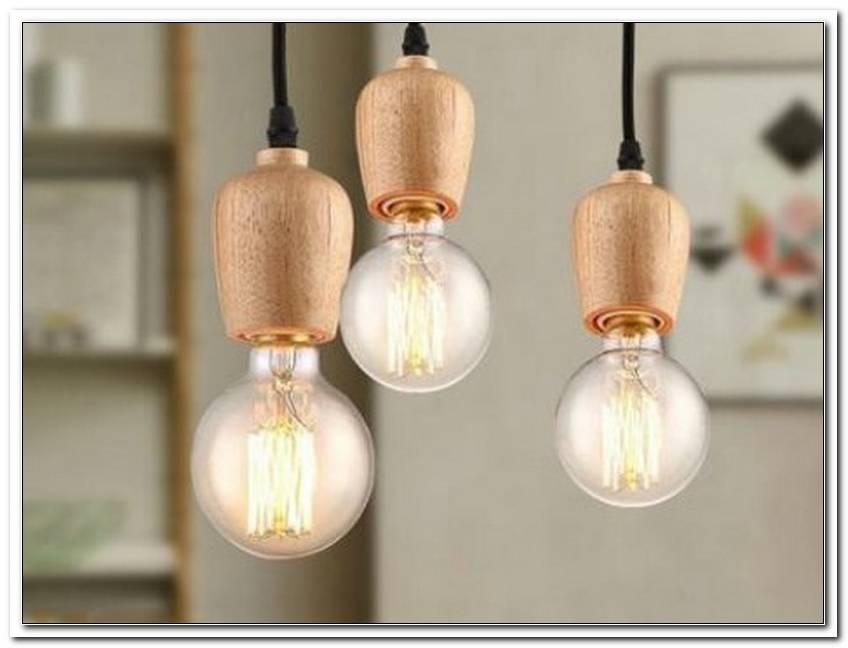 Lampe Gl?Hbirne Buntes Kabel