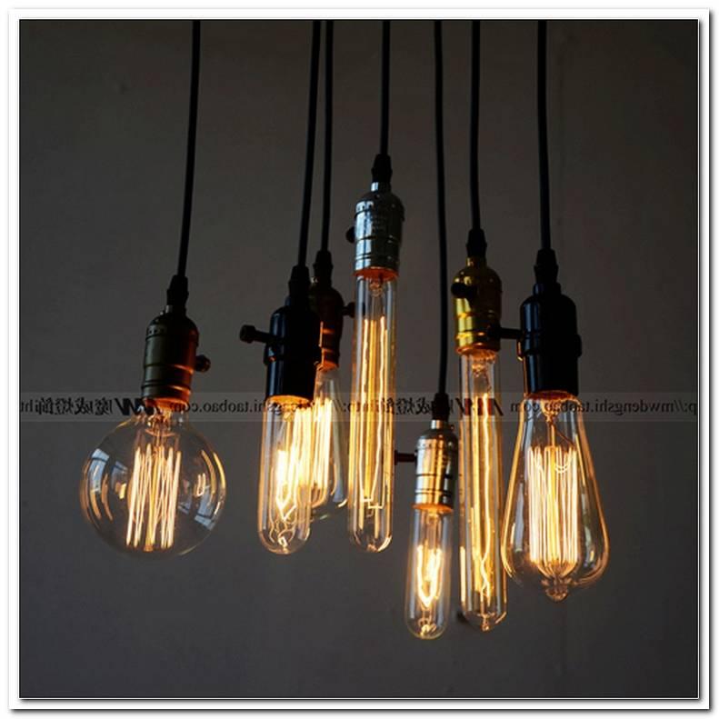 Lampe GlHbirne Mit Draht
