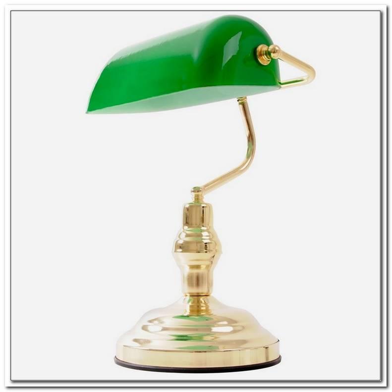 Lampe Gr?Ner Schirm