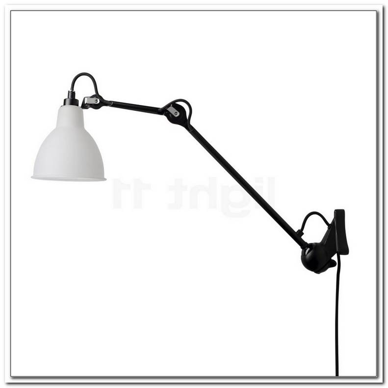 Lampe Gras 222 Wall Light Black