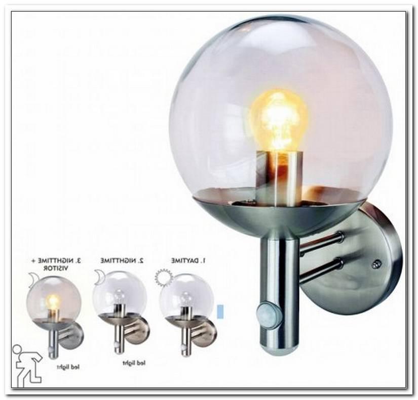 Lampe Mit Bewegungsmelder Au?En Edelstahl