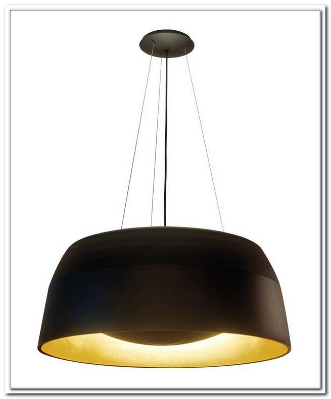 Lampe Schwarz Innen Gold