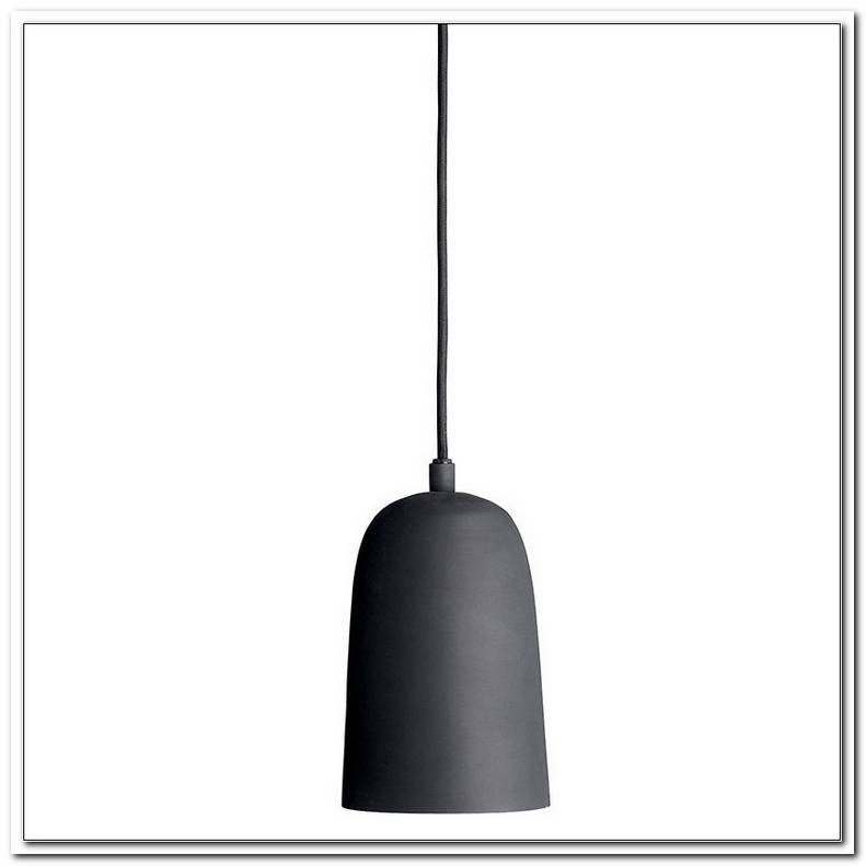 Lampe Schwarz Kupfer