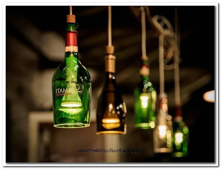 Lampen Aus Schnapsflaschen