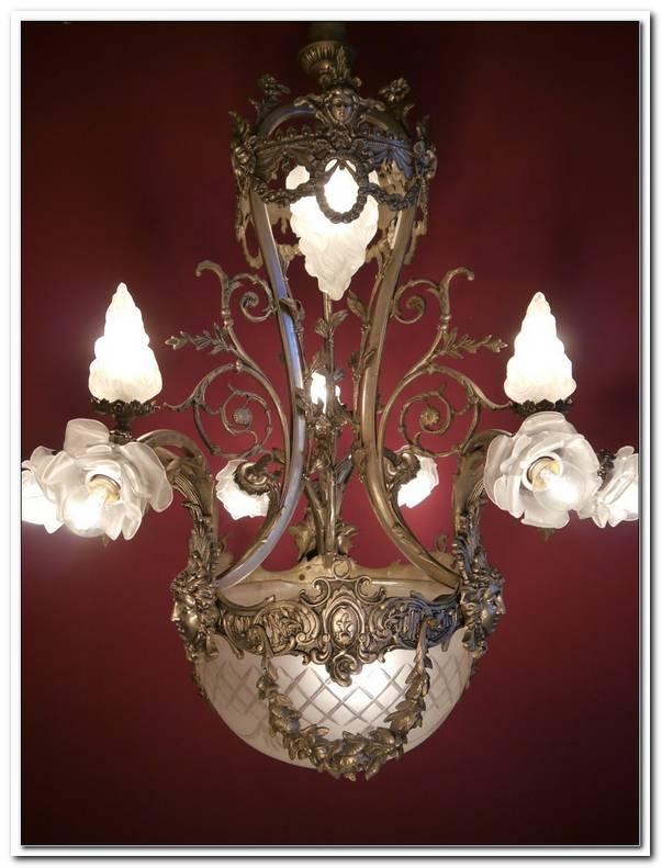Lampen Jugendstil Antik