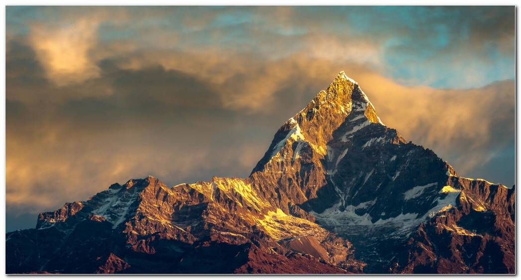 Lanscape Everest Mount Background Wallpapers