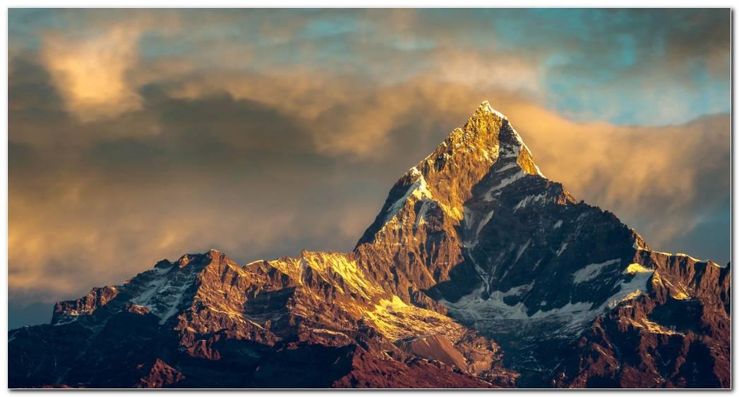 Lanscape Everest Mount Background Wallpapers