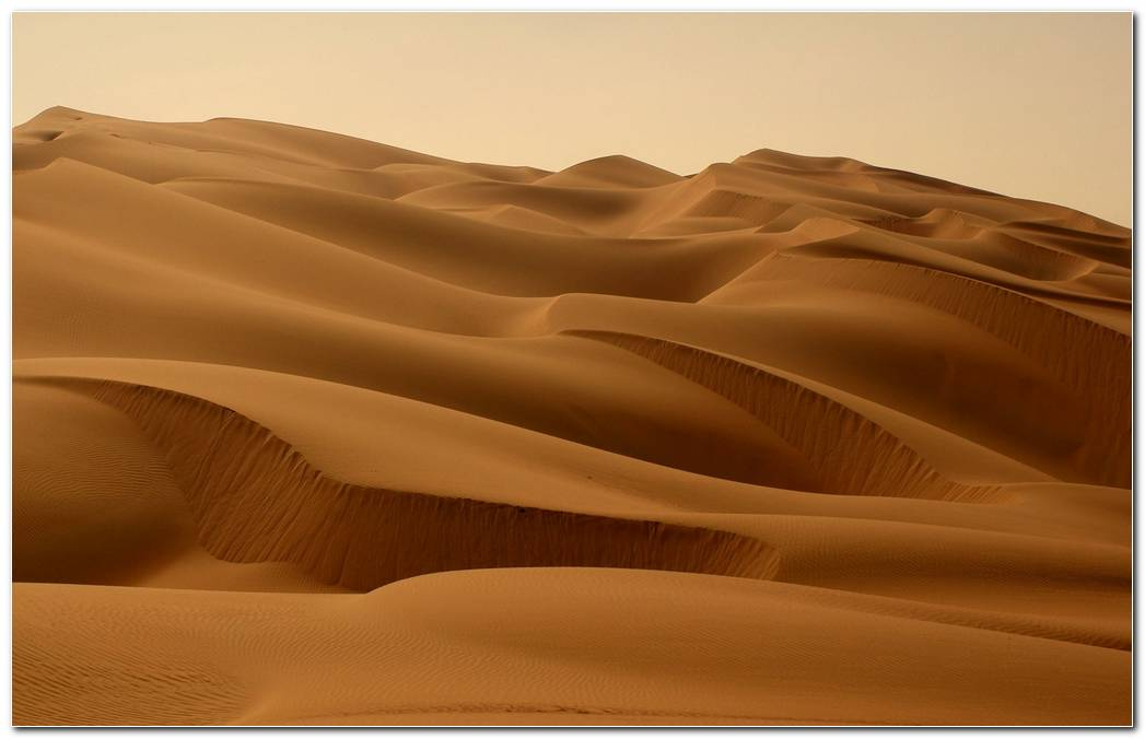 Large Desert Nature Wallpaper Background Image