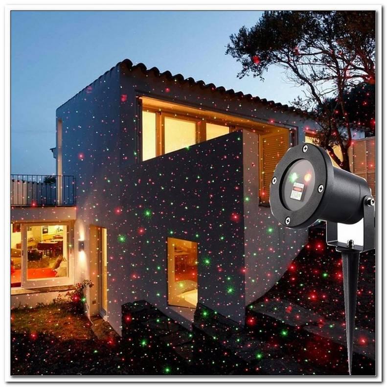 Laser Beleuchtung Aussen