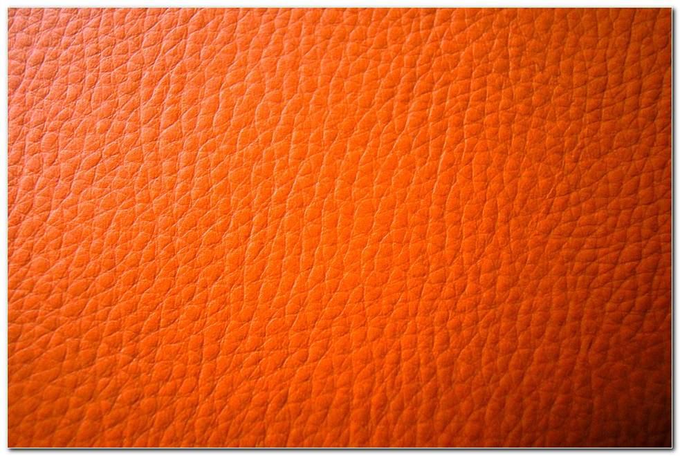 Leather Orange Background Wallpapers
