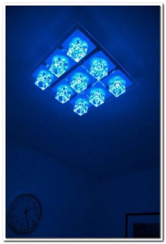 Led Farbwechsel Design Deckenleuchte Mit Fernbedienung Leuchte Deckenlampe Lampe