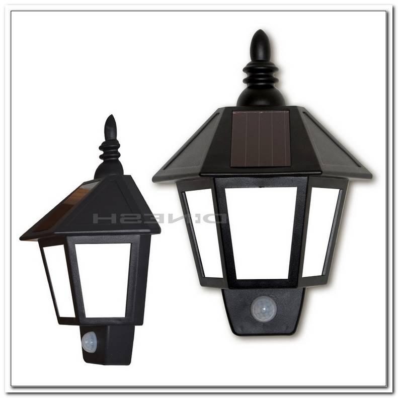Led Lampe Mit Bewegungsmelder Solar