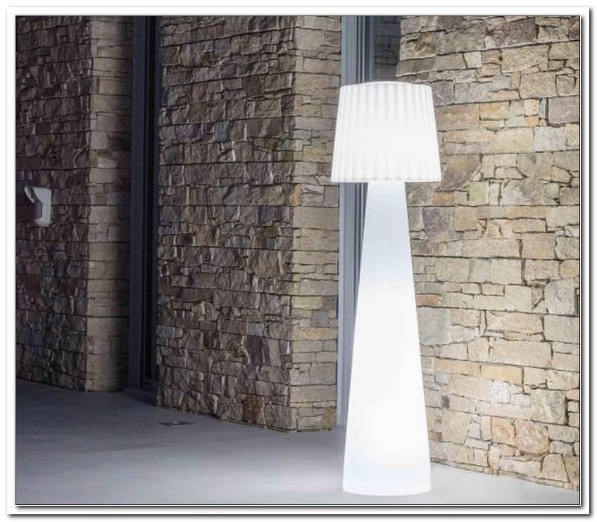 Led Stehlampe Terrasse