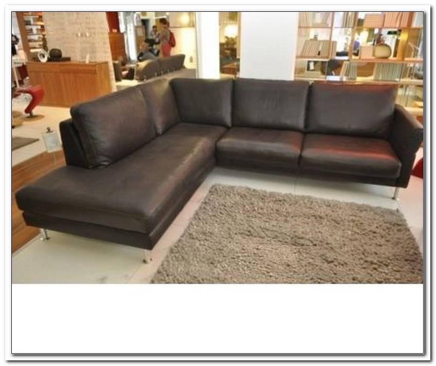 Leder Sofa Extra Tief