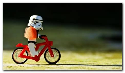 Lego Cycling HD Wallpaper