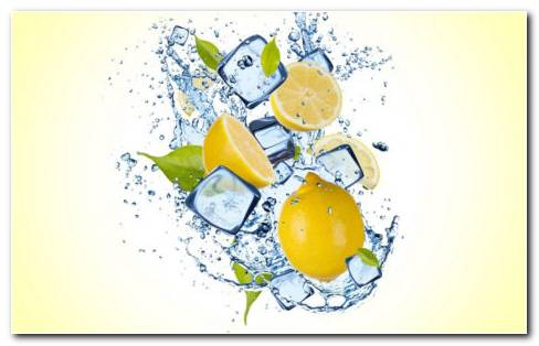 Lemon Water HD Wallpaper