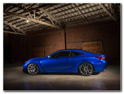 Lexus RC Car HD Wallpaper