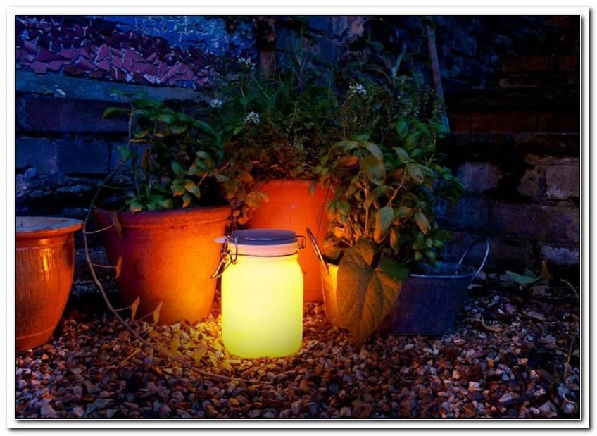 Licht Im Garten Ohne Strom