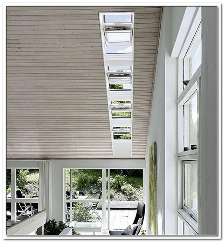 Lichtband Fenster Dach