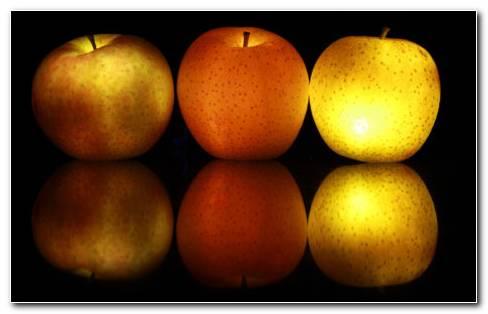 Lighten Apples HD Wallpaper