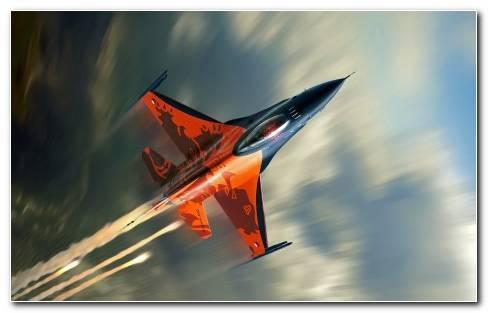 Lightning Fast Falcon F16 Wallpaper