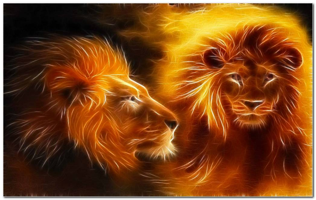 Lion Abstract Art Daily Pics Update HD Wallpapers Download 1920x1200 (1)