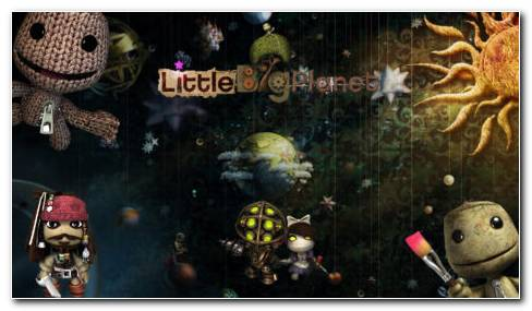 LittleBigPlanet Toys HD Wallpaper