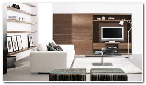 Living Room Modern Furniture HD Wallpaper