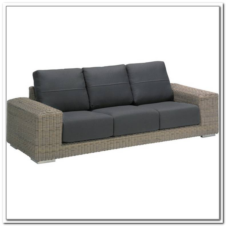Lounge Sofa Outdoor Polyrattan