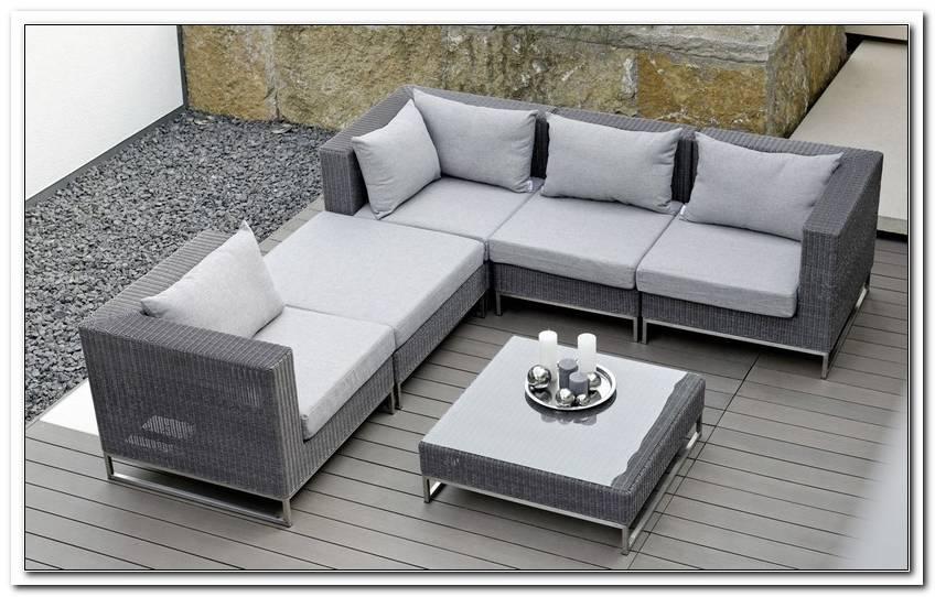 Loungemobel Garten Aluminium