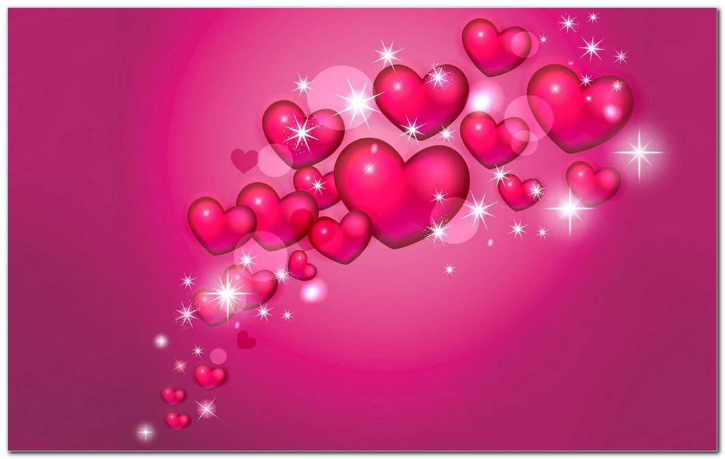 Love Pink Background Wallpaper
