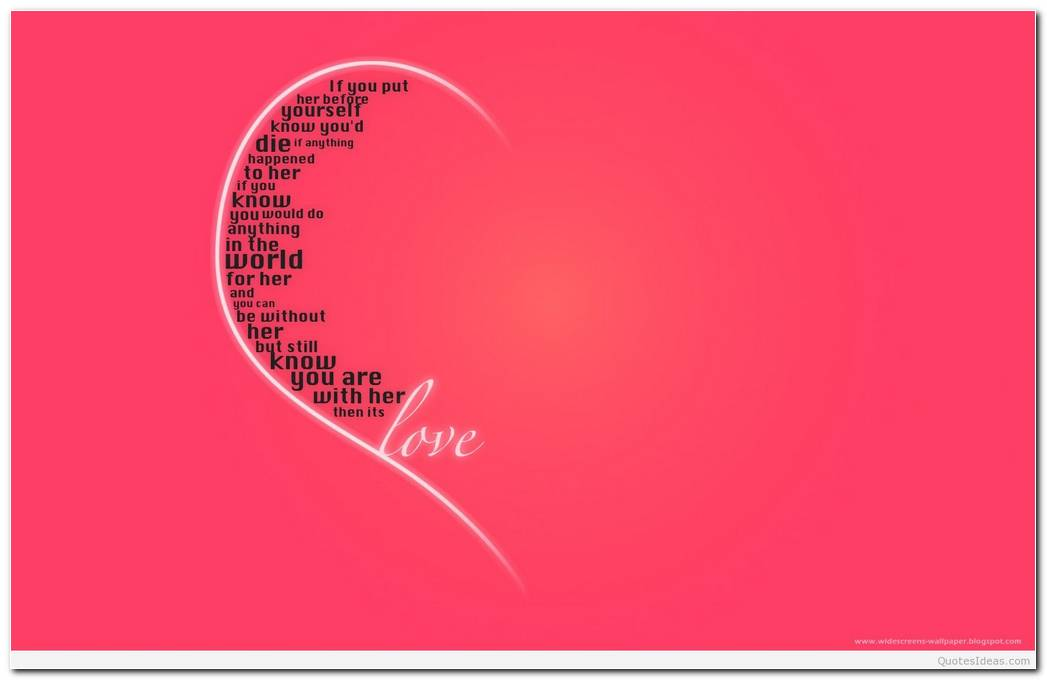 Love Quote Background