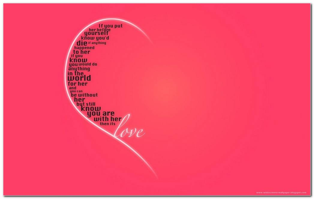 Love Quotes Backgrounds