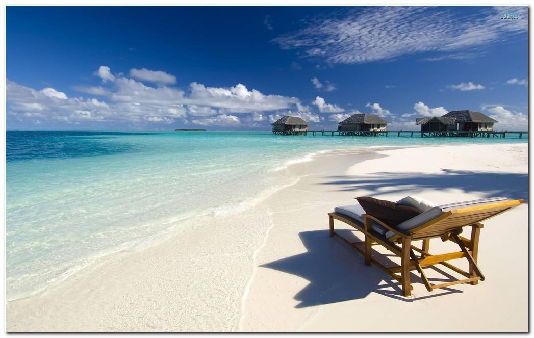 Maldives Image Beach Wallpapers Background