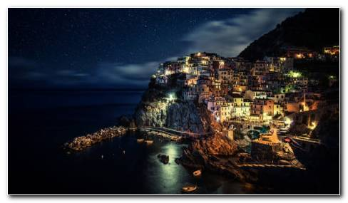 Manarola Italy HD Wallpaper