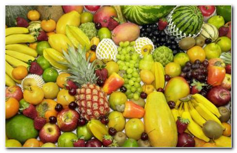 Many Fruits Assorted HD Wallpaper