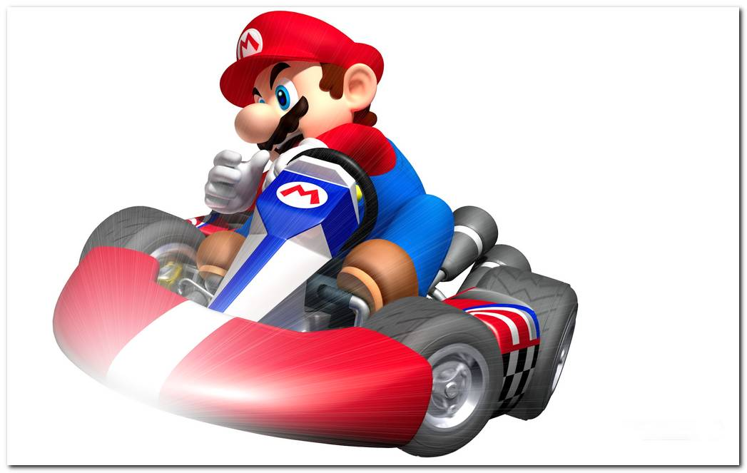 Mario Kart Games HD Wallpaper