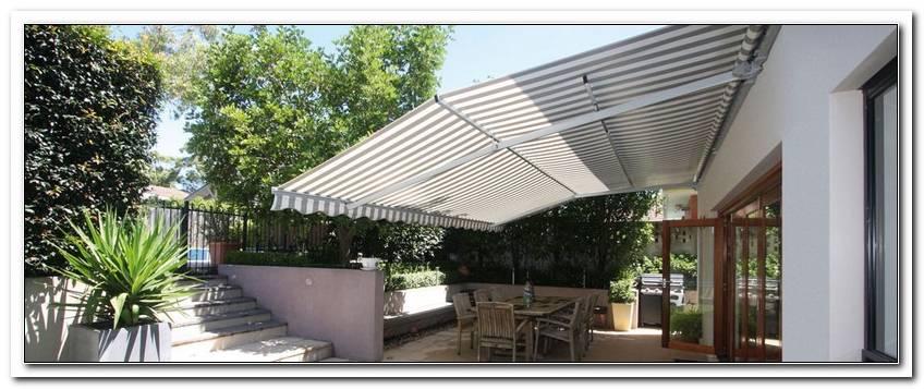Markise Terrasse Regenschutz