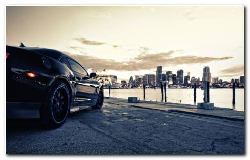 Marvelous Black Car HD Wallpaper