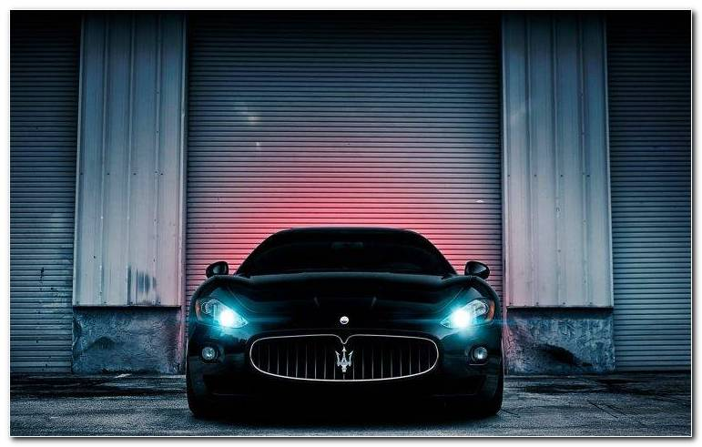 Maserati Car Background