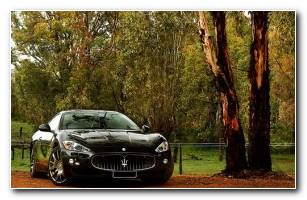 Maserati Granturismo Luxurious Car Wallpaper