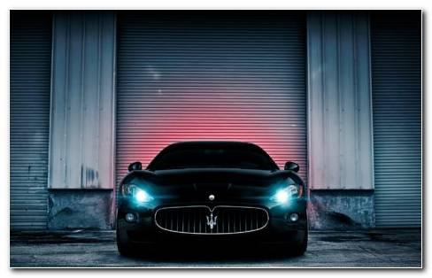 Maserati Lights HD Wallpaper